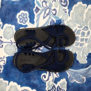 c544b1a25ff Everelax rope flat navy sandal size 8